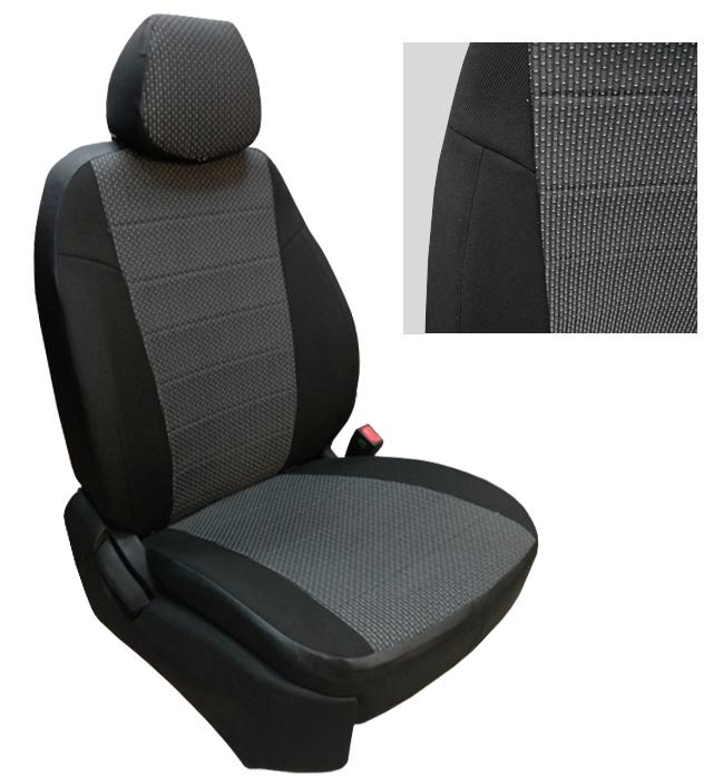 Модельные авточехлы для Chevrolet Lanos из экокожи Premium и ткань ...