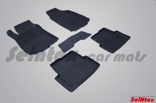 Резиновые ковры с высоким бортом в салон для Chevrolet Cobalt