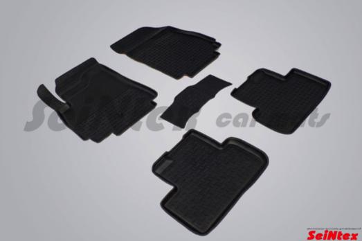 Резиновые ковры с высоким бортом в салон для Chevrolet Orlando (2011-н.в.) 5 мест