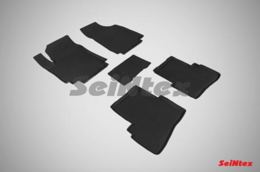 Резиновые ковры с высоким бортом в салон для Hyundai Creta
