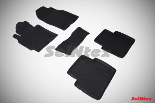 Резиновые ковры с высоким бортом в салон для Mazda CX-5 (2011-2017)