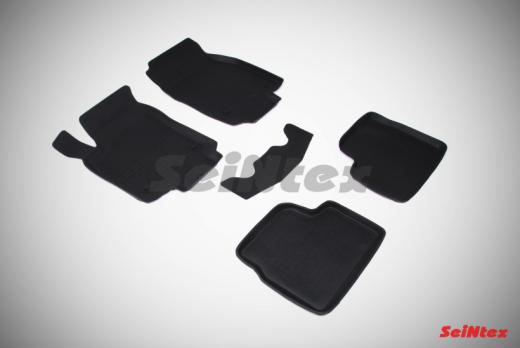 Резиновые ковры с высоким бортом в салон для Opel Astra H (2004-2014)