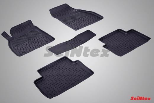Резиновые ковры с высоким бортом в салон для Opel Insignia