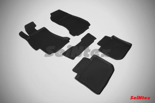 Резиновые ковры с высоким бортом в салон для Subaru XV