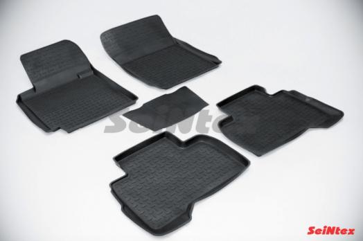 Резиновые ковры с высоким бортом в салон для Suzuki Grand Vitara (2005-2015)