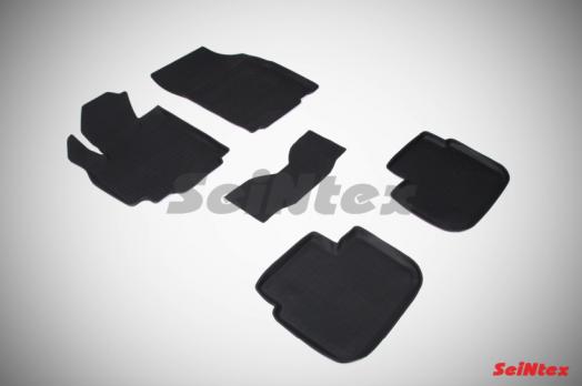 Резиновые ковры с высоким бортом в салон для Suzuki SX4 I (2006-2015)