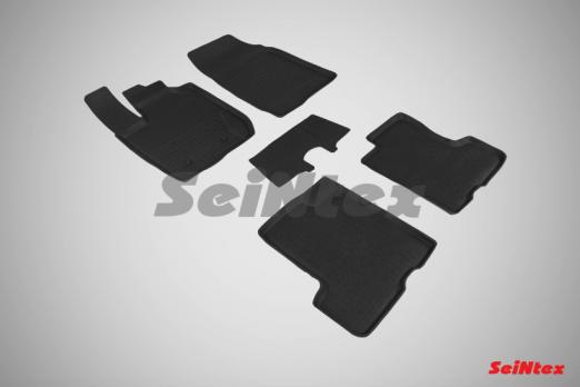 Резиновые ковры с высоким бортом в салон для Lada (ВАЗ) XRAY