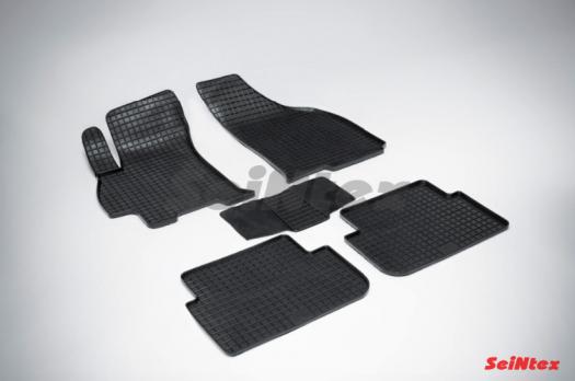 Резиновые ковры сетка в салон для Chevrolet Lanos