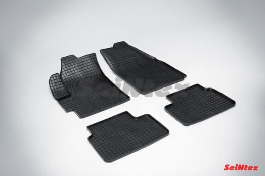 Резиновые ковры сетка в салон для Chevrolet Spark II (2005-2010)