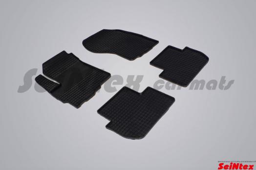 Резиновые ковры сетка в салон для Citroen C-Crosser (2007-2013)