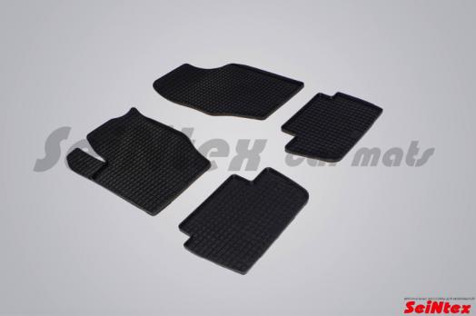 Резиновые ковры сетка в салон для Citroen C4 (2004-2011)