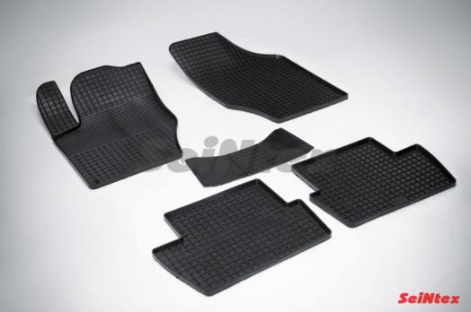 Резиновые ковры сетка в салон для Citroen C4 sedan (2011-н.в.)
