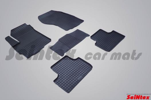 Резиновые ковры сетка в салон для Citroen C4 Aircross (2011-2015)