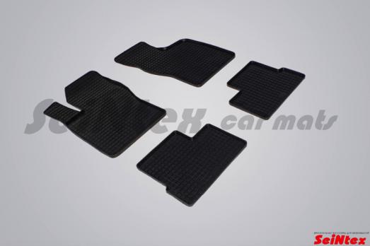 Резиновые ковры сетка в салон для Daewoo Nexia (1994-2008)