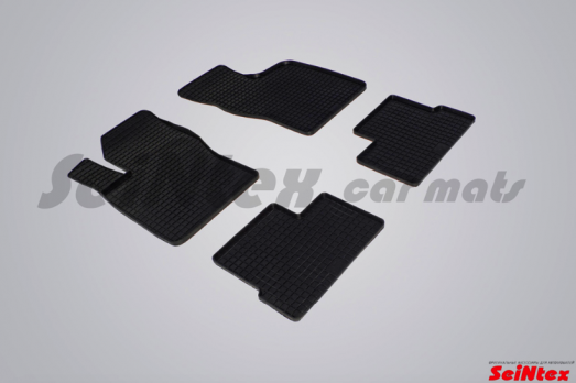 Резиновые ковры сетка в салон для Daewoo Nexia (2008-н.в.)