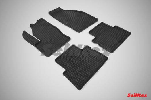 Резиновые ковры сетка в салон для Ford C-MAX