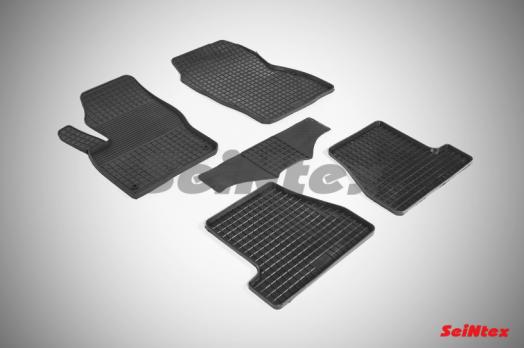 Резиновые ковры сетка в салон для Ford Focus III (2011-н.в.)