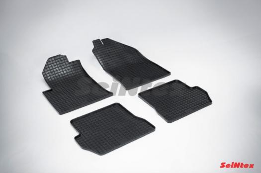Резиновые ковры сетка в салон для Ford Fusion (2002-2012)