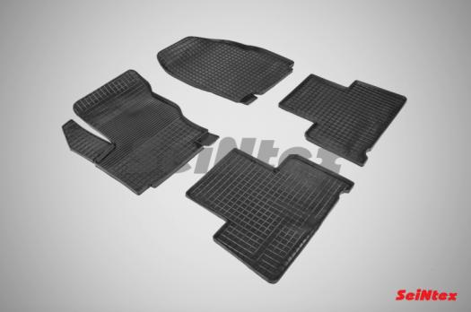 Резиновые ковры сетка в салон для Ford S-MAX