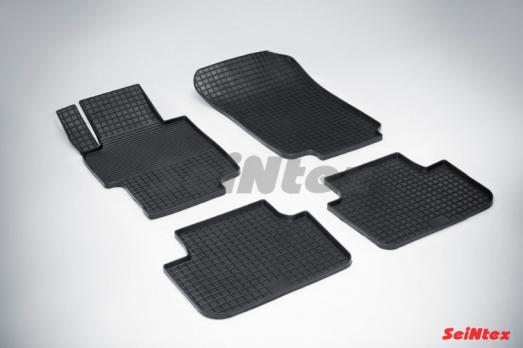 Резиновые ковры сетка в салон для Honda Accord VII (2002-2007)