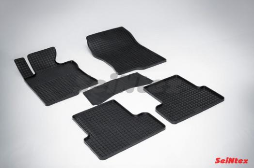 Резиновые ковры сетка в салон для Honda Accord VIII (2008-2013)