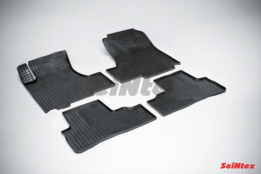 Резиновые ковры сетка в салон для Honda CR-V III (2006-2012)