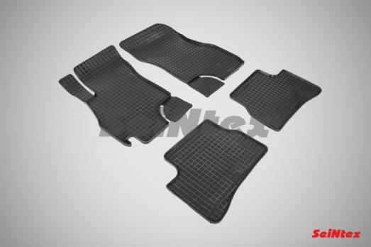 Резиновые ковры сетка в салон для Hyundai Accent