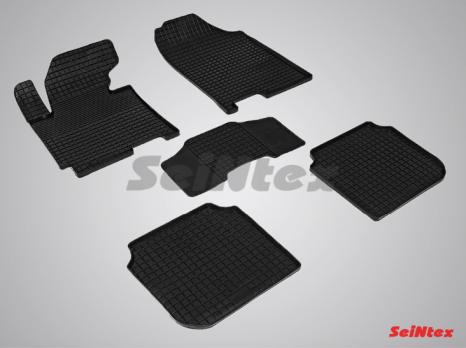 Резиновые ковры сетка в салон для Hyundai Elantra V MD (2010-2016)