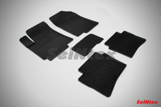 Резиновые ковры сетка в салон для Hyundai Solaris I (2010-2017)
