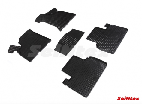 Резиновые ковры сетка в салон для Lada (ВАЗ) Priora (2007-2014)
