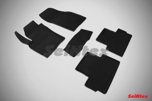 Резиновые ковры сетка в салон для Volvo C30 (2006-2013)