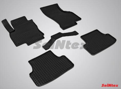 Резиновые ковры сетка в салон для Volkswagen Golf VII (2012-н.в.)