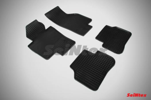 Резиновые ковры сетка в салон для Volkswagen Passat B7 (2011-н.в.)