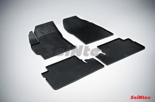 Резиновые ковры сетка в салон для Toyota Auris I (2007-2012)