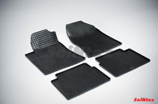 Резиновые ковры сетка в салон для Toyota Avensis (2003-2009)