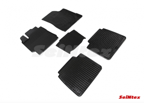 Резиновые ковры сетка в салон для Toyota Camry V50 (2011-2017)