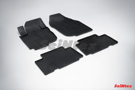 Резиновые ковры сетка в салон для Toyota RAV-4 (2006-2014)