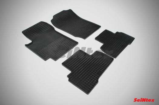 Резиновые ковры сетка в салон для Suzuki Grand Vitara 3-дв. (2005-2015)