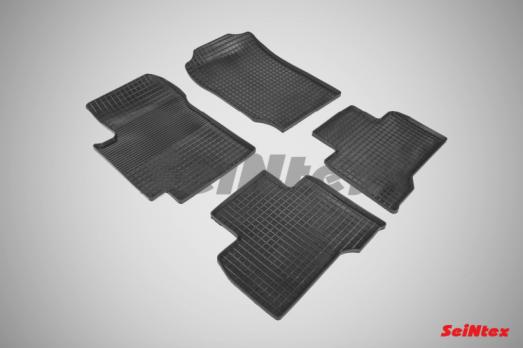 Резиновые ковры сетка в салон для Suzuki Grand Vitara 5-дв. (2005-2015)
