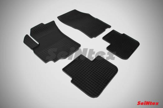 Резиновые ковры сетка в салон для Suzuki SX4 I (2006-2015)