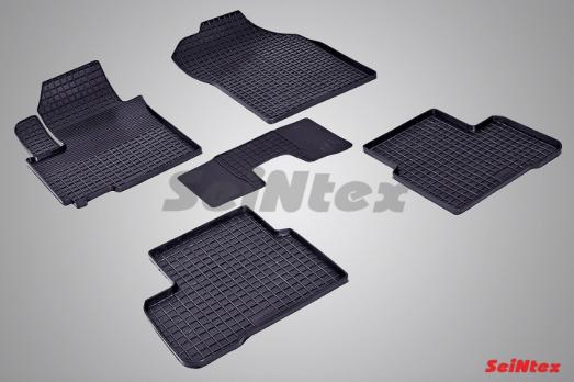 Резиновые ковры сетка в салон для Suzuki Swift (2011-н.в.)