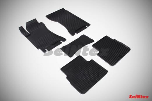 Резиновые ковры сетка в салон для Subaru Forester II (2002-2008)