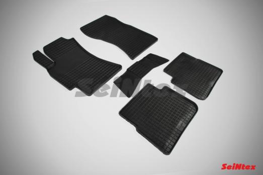 Резиновые ковры сетка в салон для Subaru Forester III (2008-2013)