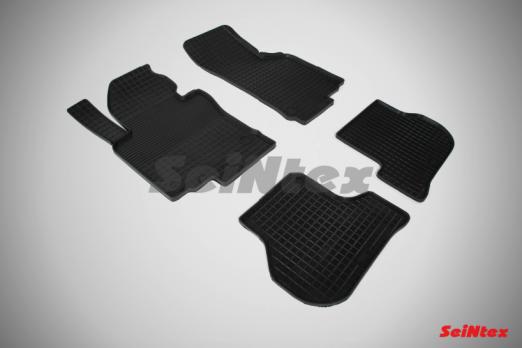 Резиновые ковры сетка в салон для Skoda Octavia A5 (2006-2013)