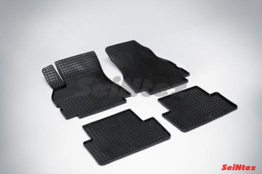 Резиновые ковры сетка в салон для Renault Megane II (2002-2010)