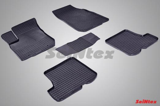 Резиновые ковры сетка в салон для Renault Sandero (2009-2014)