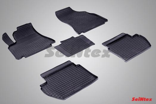 Резиновые ковры сетка в салон для Peugeot Partner Tepee (2008-н.в.)