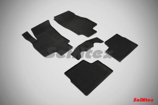 Резиновые ковры сетка в салон для Opel Astra H (2004-2014)