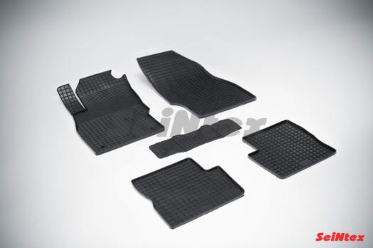 Резиновые ковры сетка в салон для Opel Corsa D (2006-2014)