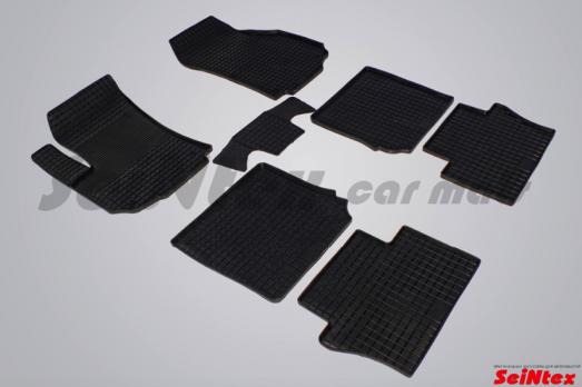 Резиновые ковры сетка в салон для Opel Zafira B (2005-2012)